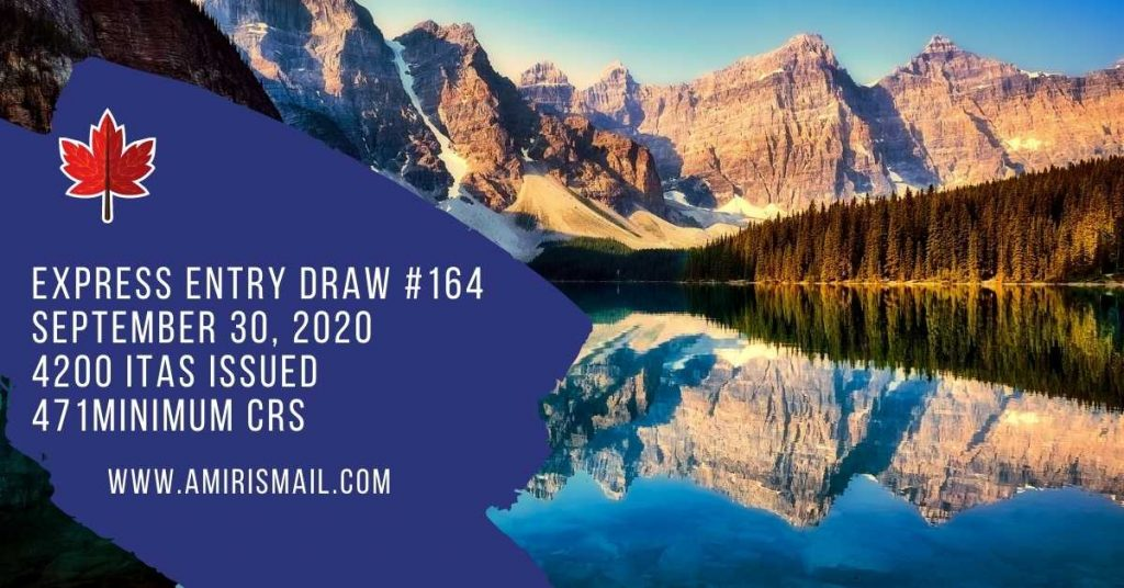 Express Entry Draw 164