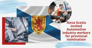 Nova Scotia PNP invited automotive industry workers